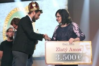 Zlatým Amosom 2018 sa stal Ján Gáll z Košíc