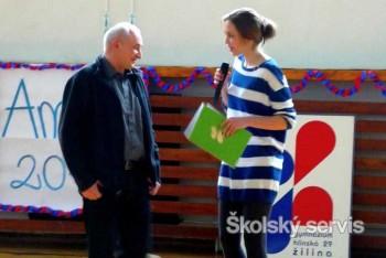 Žiacka školská rada Gymnázia Hlinská už 10. raz ocenenila učiteľov