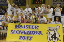 Slovensko šport basketbal extraliga play off ženy