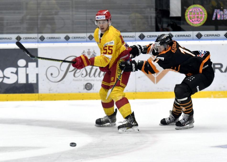 Hokejisti Trenčína podľahli Michalovciam v zápase Tipos extraligy 4:5