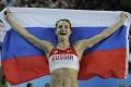 Isinbajevová chce byť prezidentkou Ruskej atletickej federácie