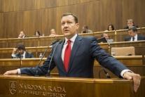 Lipšic sa lúčil s parlamentom: Toto sú jeho posledné slová