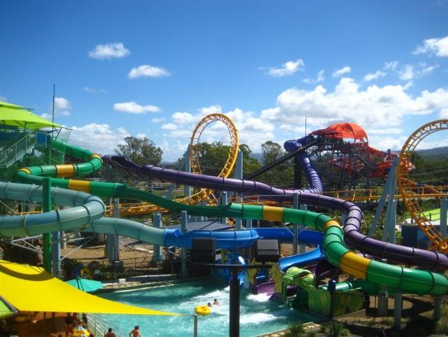 Divoký aquapark v austrálii foto: lookbookandgo.co.au