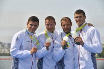Máme ďalšiu medailu: Štvorkajak získal striebro na 1000 m