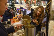 Vianočný charitatívny bazár, 2019, Stará tržnica,