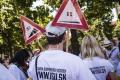 Centrom Bratislavy pochodovali nespokojní učitelia