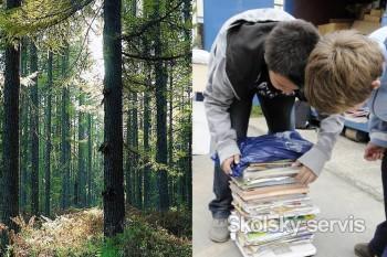 Školáci zberom papiera symbolicky zachránili 964 stromov