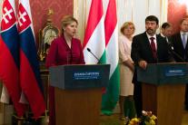 Zuzana Čaputová  János Áder