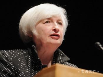 Šéfka Fedu varovala, že globálne tlaky sú rizikom pre ekonomiku USA