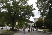 Trenčianske Teplice, námestie