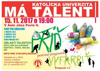 KU má talent 2017