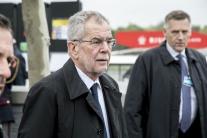 SLEDUJEME: Rakúsky prezident Alexander Van der Bellen na Slovensku