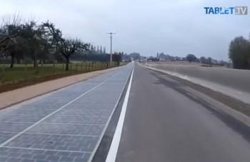 VIDEO: Vo Francúzsku otvorili prvú solárnu cestu pre motoristov