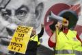Stovky ľudí v Izraeli protestovali v Tel Avive v žltých vestách