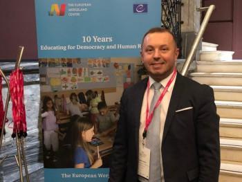 Na konferencii Democratic Schools for All sa zúčastnil aj riaditeľ ŠPÚ