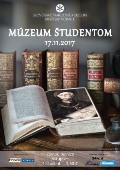 Expozície Bojnického zámku budú pre študentov za zvýhodnené vstupné