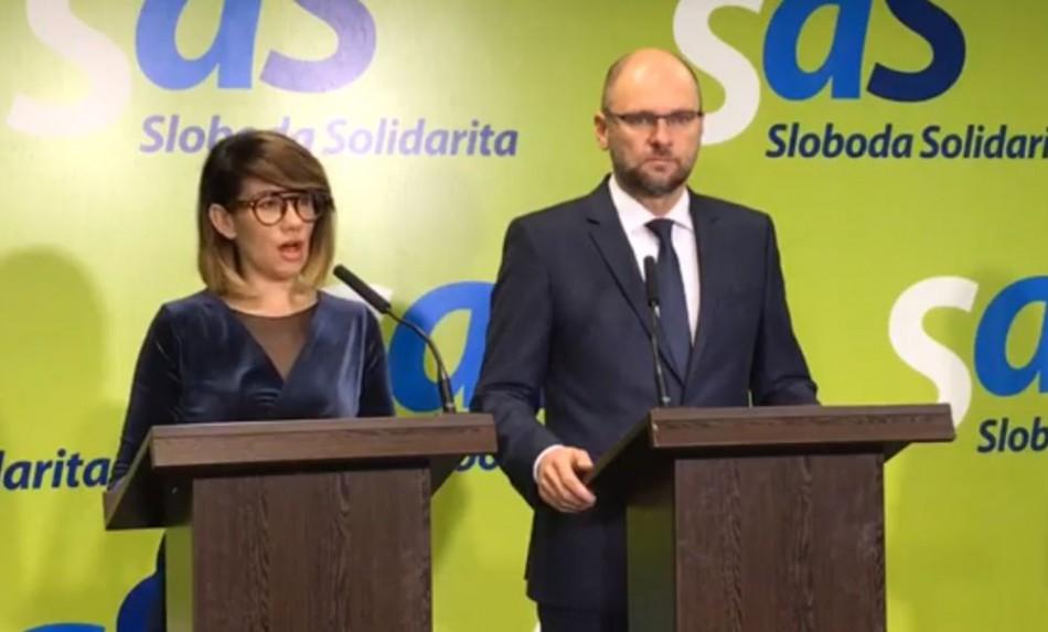 Reakcia opozície na nomináciu Sakovej za ministerku vnútra
