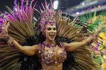 Karnevalový sprievod v brazílskom Sao Paulo