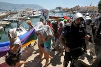 Čierna Hora, homosexuali, pochod