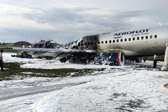 e035cda4540a7 Aeroflot zrušil štyri lety Suchoj Superjet po tragickej nehode - 24hod.sk