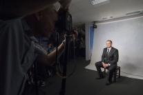 Fotografovanie prezidenta Andreja Kisku
