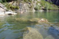 Slovenské Plitvické jazero v Beňatine