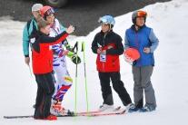 obrovský slalom Petra Vlhová