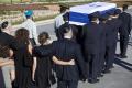 OBRAZOM: Lídri vyzdvihli na pohrebe Peresovu víziu o mieri pre Izrael