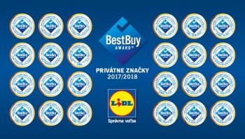 Privátne značky Lidla majú najlepší pomer ceny a kvality