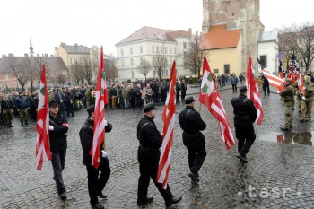 Maďarskí neonacisti si pripomenuli Deň cti, prišli aj Slováci