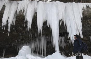 Ľadopád Šikľavá skala OBRAZOM: Takú nádheru môže stvoriť iba príroda
