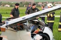 Nehoda aeromobilu v Nitre