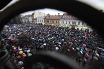 Košice, protest, Za slušné Slovensko