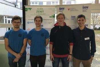 Slovenskí študenti si zmerajú technické zručnosti na súťaži Zenit