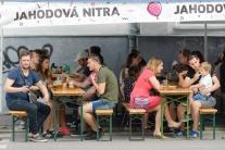 Nitra festival trhy relax jahody stánky