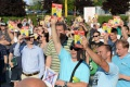 Proti rozšíreniu plateného parkovania v Košiciach sa protestovalo