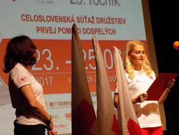 Z otvorenia  25. ročníka Memoriálu MUDr. Vladimíra Harineka