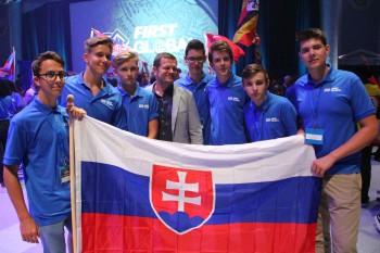 Slovenský tím sa zúčastní na robotickej olympiáde v Mexiku