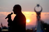 Turecko prevrat výročie prejav Erdogan