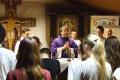 Duchovná obnova žiakov vo Vysokej nad Uhom