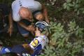 Evenepoel šesť týždňov od ťažkého pádu už nepotrebuje barly