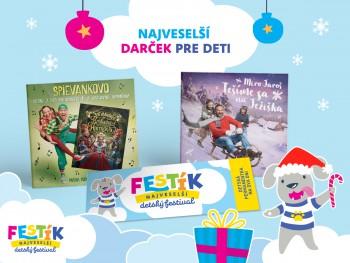 Vo vianočnom balíčku FESTÍK-a bude aj CD-čko Mira Jaroša a Spievankova