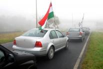 Jobbik demonštroval: Rajka nie je obvodom Bratisla