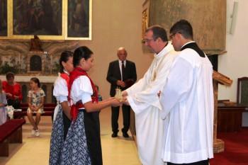 Slávnostná svätá omša v Šuranoch
