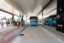 Zmodernizovaná autobusová stanica v Nitre