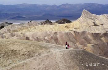 V Údolí smrti zachytili predbežný svetový rekord pre najhorúcejší júl