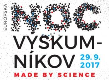 Univerzita Komenského na Európskej noci výskumníkov 2017