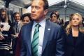 Schwarzenegger vyzval školákov, aby mysleli pozitívne