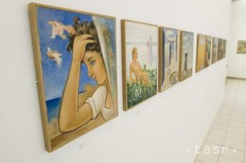 V pivnici úradu v Považskej Bystrici našli diela významného maliara