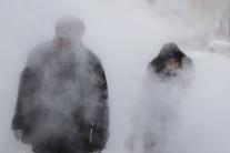 Zima a mráz v Rumunsku